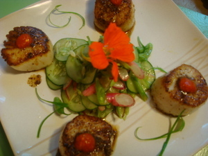 Recipe - Seared scallops -- IIN kitchen_sessions1