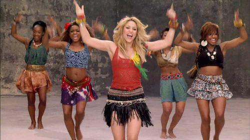 Shakira Waka Waka Dance (1)