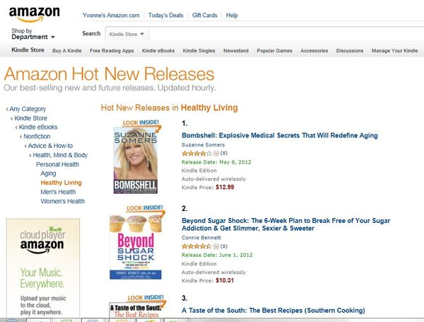 Amazon USA KINDLE #2 HNR Healthy Living